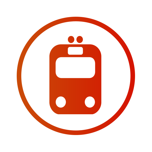 Yellow Train Icon