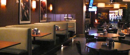 interior shot of Bar Louie